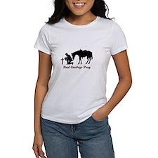 REAL COWBOYS PRAY T-Shirt