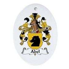 Abel Oval Ornament