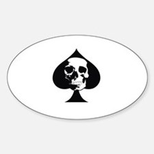 ACE OF SPADES SKULL Decal