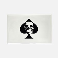 ACE OF SPADES SKULL Magnets