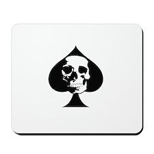 ACE OF SPADES SKULL Mousepad