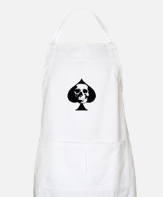 ACE OF SPADES SKULL Apron
