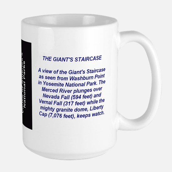 Views of the Giant Staircase Large Mug