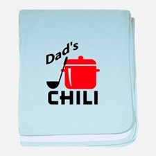 Dad's Chili baby blanket