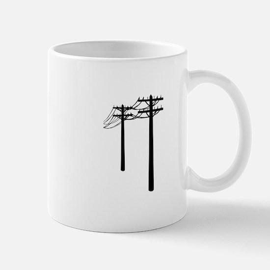 Utility Lines Mugs