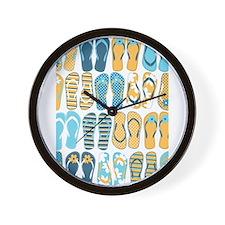 Cute Summer Wall Clock