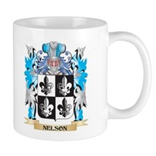 Nelson- Coat of Arms - Family Crest Mugs