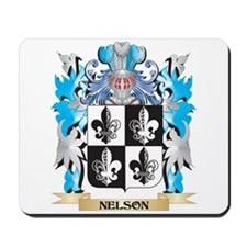 Nelson- Coat of Arms - Family Crest Mousepad