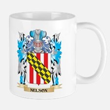 Nelson Coat of Arms - Family Crest Mugs