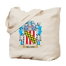 Nelson Coat of Arms - Family Crest Tote Bag