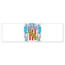 Nelson Coat of Arms - Family Crest Bumper Bumper Sticker