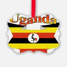 Ugandan ribbon Ornament