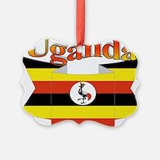 Ugandan ribbon Ornament