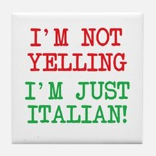 I'm Italian Tile Coaster