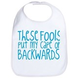 Funny family Cotton Bibs