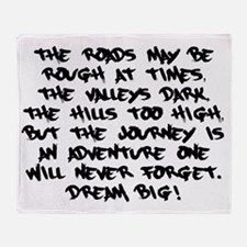 Adventurous Journey Throw Blanket