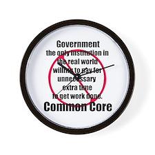 Common core Wall Clock
