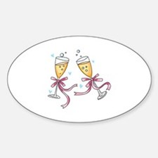 CHAMPAGNE TOAST Decal
