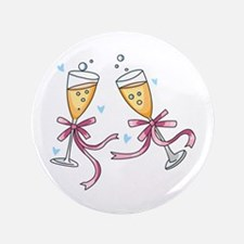 """CHAMPAGNE TOAST 3.5"""" Button"""