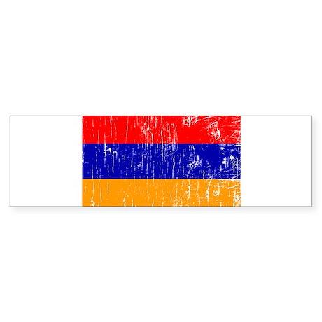 Vintage Armenia Bumper Sticker