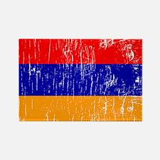Vintage Armenia Rectangle Magnet