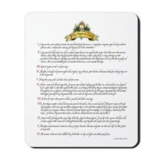The Pirate's Code Mousepad