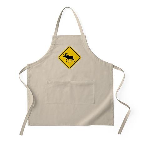 Moose Crossing BBQ Apron