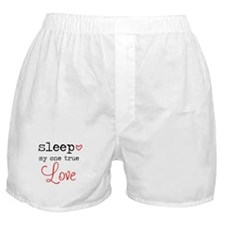 My One True Love Boxer Shorts
