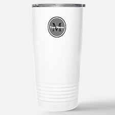 Custom Initial And Name Travel Mug