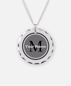 Custom Initial And Name Necklace