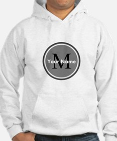 Custom Initial And Name Hoodie
