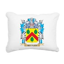Nettles Coat of Arms - F Rectangular Canvas Pillow