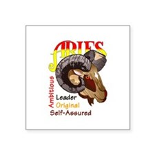 ARIES TRAITS Sticker