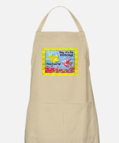 100th Day of School Fish Party Apron