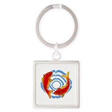 FISH AND WATER RING Keychains