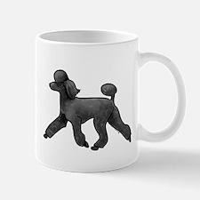 black poodle Mugs