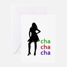 Cha Cha Cha Greeting Cards