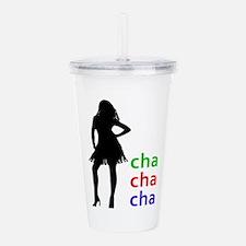Cha Cha Cha Acrylic Double-wall Tumbler