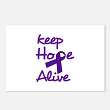 Keep Hope Alive Postcards (Package of 8)