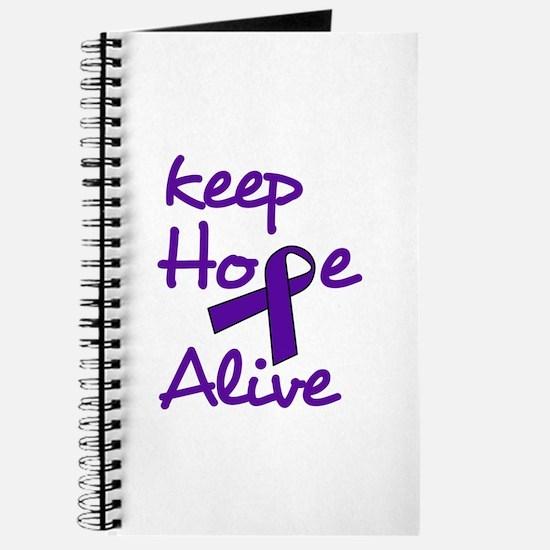 Keep Hope Alive Journal