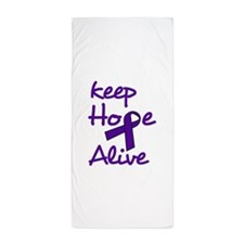 Keep Hope Alive Beach Towel