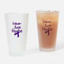 Never Lose Hope Drinking Glass