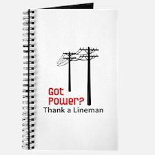 Got Power ? Thank A Lineman Journal