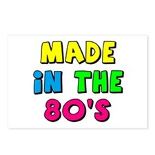 Made in the 80s Postcards (Package of 8)