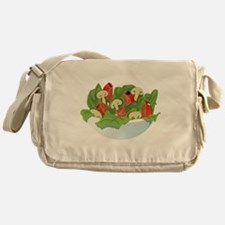 Bowl Of Salad Messenger Bag