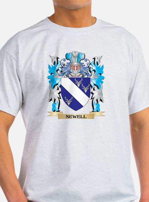 Newell Coat of Arms - Family Crest T-Shirt