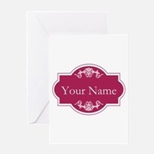 Add Your Name Greeting Cards