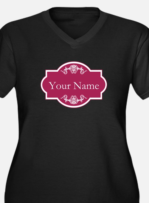 Add Your Name Plus Size T-Shirt