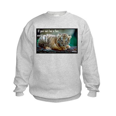 Tiger Coat Kids Sweatshirt