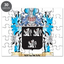 Newman Coat of Arms - Family Crest Puzzle